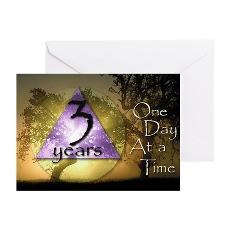 3 Year ODAAT Birthday Greeting Cards (Pk of 20)