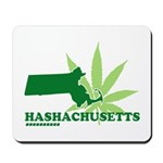 Funny Massachusetts Weed Mousepad