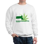 Funny Massachusetts Weed Sweatshirt
