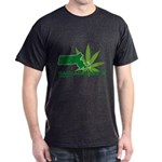 Funny Massachusetts Weed Dark T-Shirt