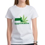 Funny Massachusetts Weed Women's T-Shirt
