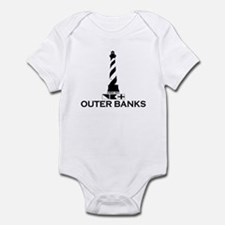 Outer Banks NC - Lighthouse Design Infant Bodysuit