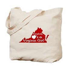 Everybody Loves a VA Girl RW Tote Bag