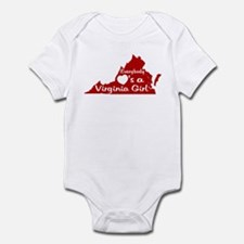 Everybody Loves a VA Girl RW Infant Bodysuit