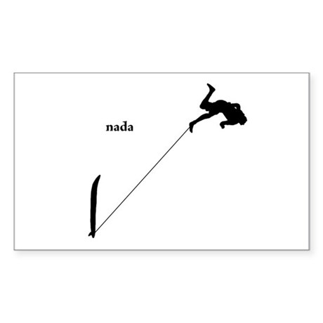 nada Sticker (Rectangle)