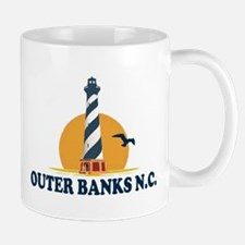 Outer Banks NC - Lighthouse Design Mug