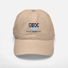 Outer Banks NC - Map Design Baseball Baseball Cap