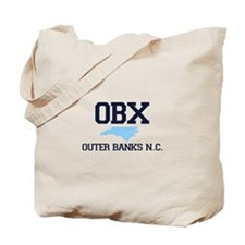 Outer Banks NC - Map Design Tote Bag