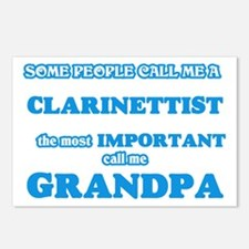 Some call me a Clarinetti Postcards (Package of 8)