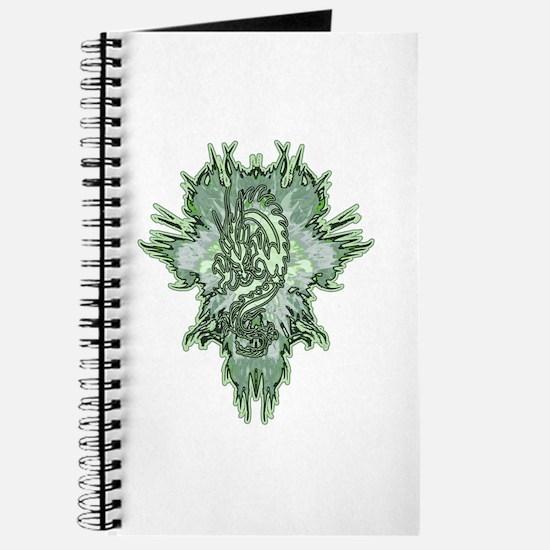 Unique Green dragons Journal