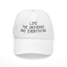 Life, The Universe, and Everything! Baseball Baseball Cap