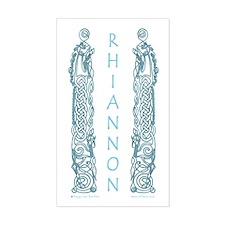 Rhiannon Rectangle Decal