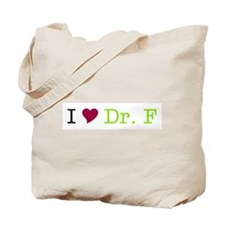 I Heart Dr. F Tote Bag