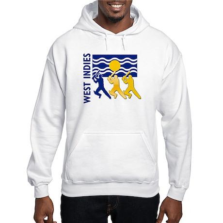 West Indies Cricket Hooded Sweatshirt