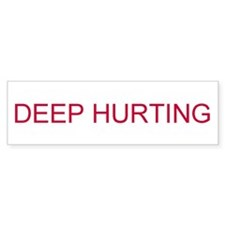 DEEP HURTING Car Sticker