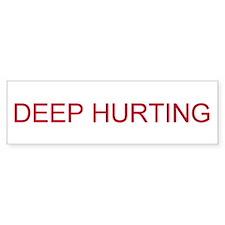 DEEP HURTING Car Sticker