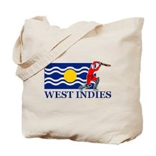 West Indies Cricket Player Tote Bag