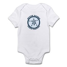 Outer Banks NC - Sand Dollar Design Infant Bodysui