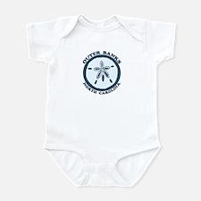 Outer Banks NC - Sand Dollar Design Infant Bodysui