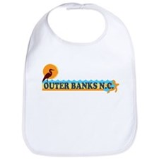 Outer Banks NC - Beach Design Bib