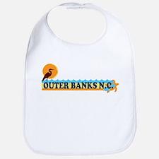 Outer Banks NC - Beach Design Bib