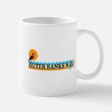 Outer Banks NC - Beach Design Mug