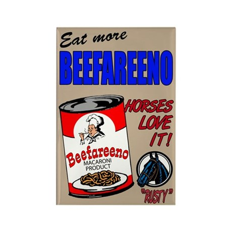 """Beefareeno"" Rectangle Magnet (10 pack)"