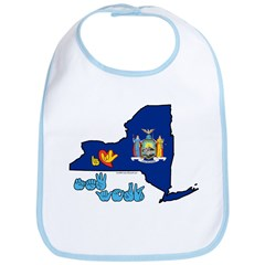 ILY New York Bib