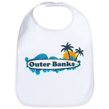 Outer Banks NC - Surf Design Bib