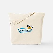 Outer Banks NC - Surf Design Tote Bag