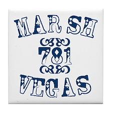 Marsh Vegas Tile Coaster