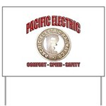 Pacific Electric Railway Yard Sign