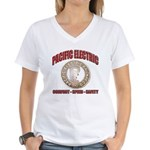 Pacific Electric Railway Women's V-Neck T-Shirt