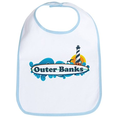 Outer Banks NC - Surf Design Bib