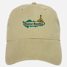 Outer Banks NC - Surf Design Baseball Baseball Cap