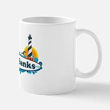 Outer Banks NC - Surf Design Mug