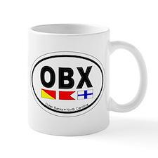 Outer Banks NC - Oval Design Small Mug