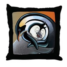 Duncan Hug Throw Pillow