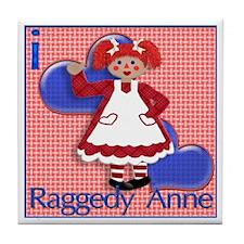 RaggedyAnne Tile Coaster