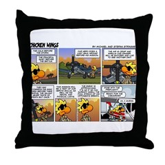 2L0049 - The quiet before the Throw Pillow