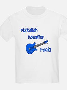 RIZKALLAH Cousins Rock! T-Shirt