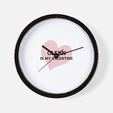 Glenn Is My Valentine Wall Clock