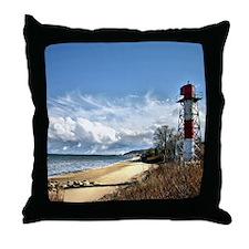 Bayshore area Throw Pillow
