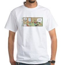 Floorganized White T-Shirt