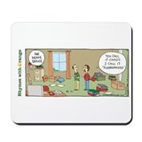 Funny office Classic Mousepad
