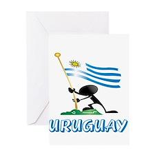 Cute Uruguay Greeting Card