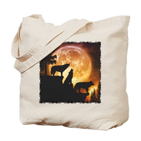 Wolves Peak Tote Bag