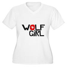 Wolf Girl - T-Shirt