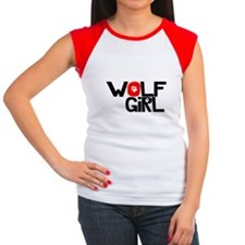 Wolf Girl - Women's Cap Sleeve T-Shirt