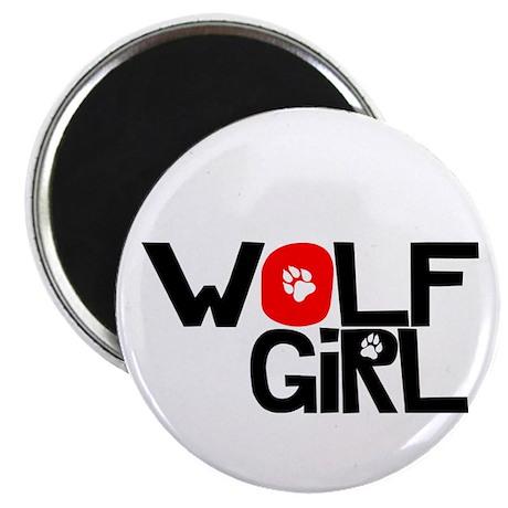 "Wolf Girl - 2.25"" Magnet (10 pack)"